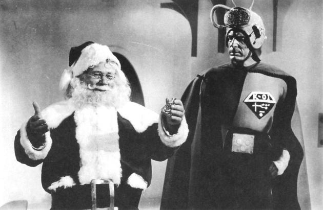 Santa Claus Martians 1a
